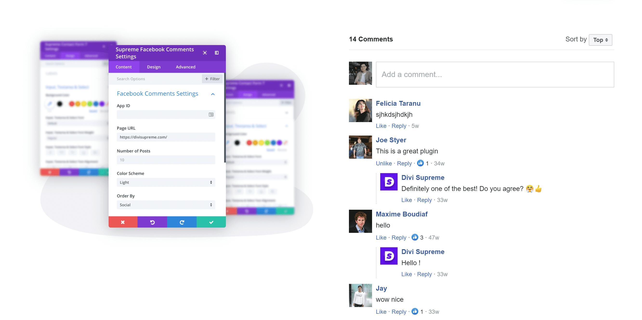 Facebook Comments Module
