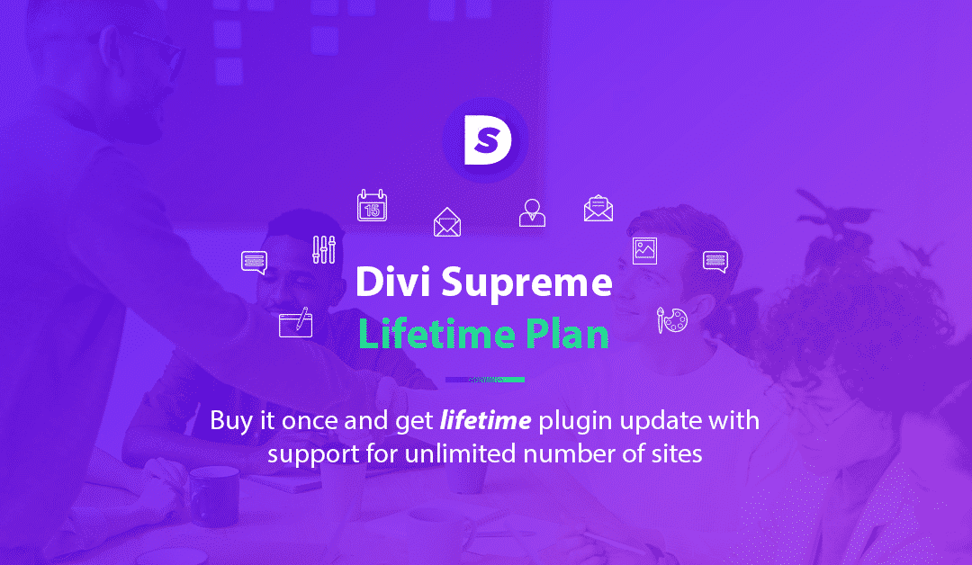 Introducing Lifetime Pricing Plan for Divi Supreme Pro – Lifetime Update & Unlimited Site Support