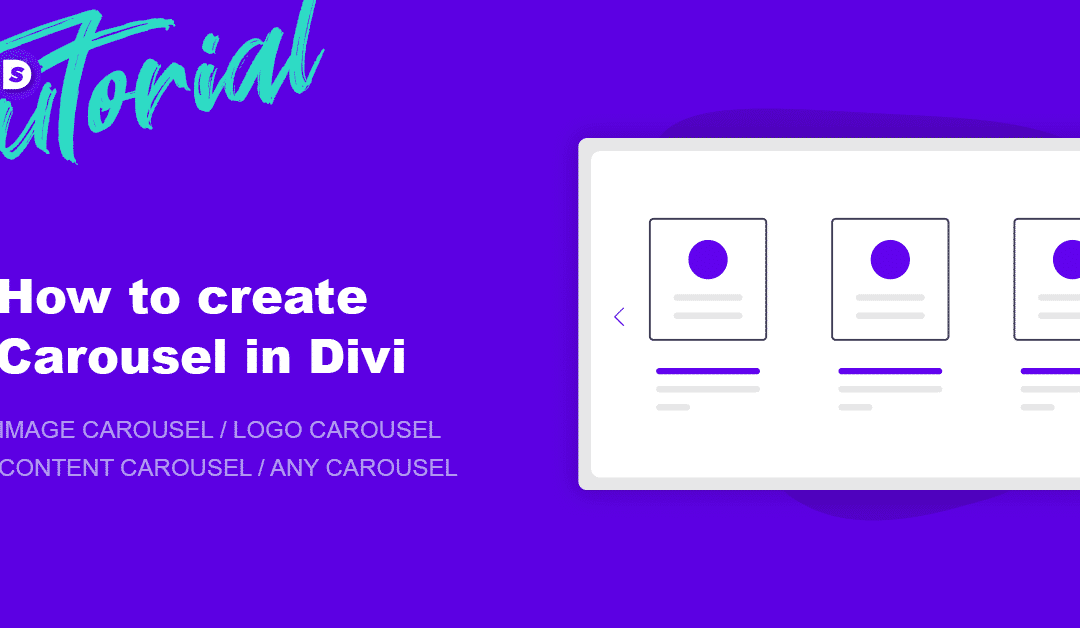 How to create Beautiful Carousels in Divi
