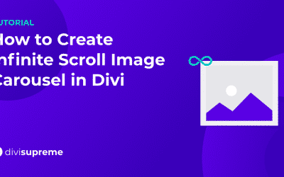 How to Create Infinite Scroll Image Carousel in Divi