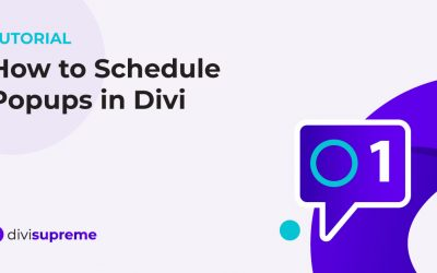 How to Schedule Popups in Divi