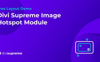 Free Layout Demo: Divi Supreme Image Hotspot Module