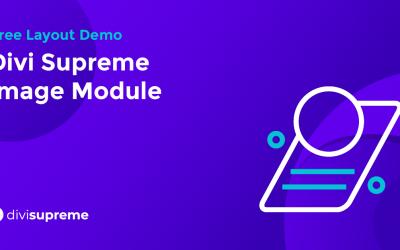 Free Layout Demo: Divi Supreme Image Module