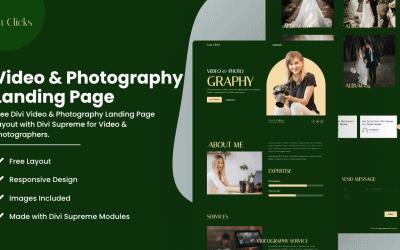 Divi Videographer & Photographer LP